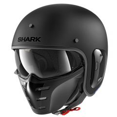 Shark S-Drak 2 avokypärä, mattamusta