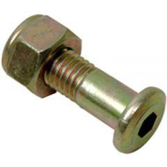 *TALON pultti M10x30 insex Drevbult m mutter XR600. (6-pack)