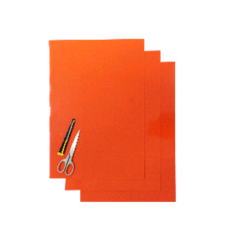 Blackbird Numerokilven tarra-arkki oranssi 47x33cm (3kpl)