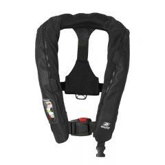 Baltic Carbon 190 auto inflatable lifejacket black 40-120kg