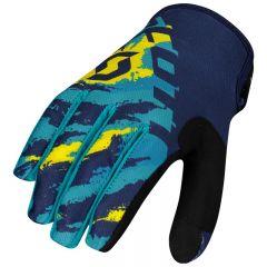 SCOTT Hanska 350 Fury sininen/keltainen