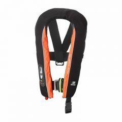 Baltic Winner 165 harness auto ilmatäytteinen pelastusliivi musta/oranssi 40-150