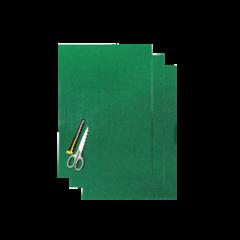Blackbird Numerokilven tarra-arkki vihreä 47x33cm (3kpl)