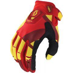 Scott 450 Cubic hanska keltainen/punainen