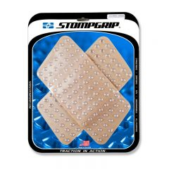 Stompgrip Universal Quadrilateral Tank Grips - Super Volcano : Clear