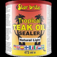 Star brite Tropical Teak Oil/Sealer Natur.Light Teak tropik.öljy 500ml