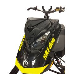 Skinz Next Level Tuulisuojalaukku Musta Ski-doo 850 Rev 4