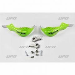 UFO Käsisuojat alu Vihreä alumiinikiskolla 22 MM