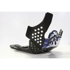 AXP Xtrem HDPE Skid Plate Black Yamaha YZ250F 19-, YZ450F 18-