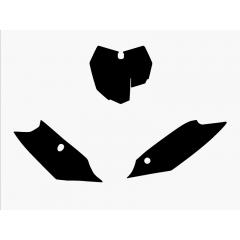 Blackbird numeropohjat musta SX/SX-F 13-15
