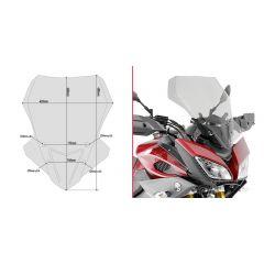 Givi Spoileriplexi 48 x 42 cm (k x l) MT-09 Tracer (15)