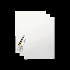 Blackbird Numerokilven tarra-arkki kirkas 47x33cm (3kpl)