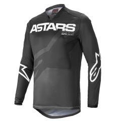 Alpinestars Racer Paita Braap Svart/Harmaa/Valkoinen