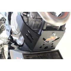 AXP Xtrem HDPE Skid Plate Black KTM/Husqvarna 19