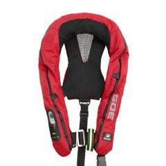 *Baltic Legend 305 harness auto ilmatäytteinen pelastusliivi punainen 40-150kg