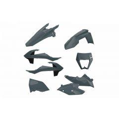 Polisport kit enduro w/mask KTM EXC/EXC-F(17-19) Nardo Grey