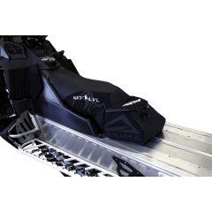 Skinz Airframe Satula Matala Freeride Musta 2011-15 Polaris Pro RMK Integroitu l