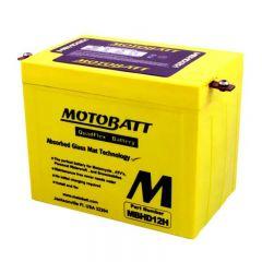 Motobatt akku, MBHD12H