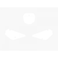 Blackbird numeropohjat valkoinen RM85 02-15