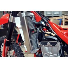 AXP Radiator Braces Red spacers Beta 350RR 15-19