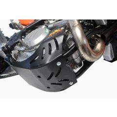 AXP Skid Plate Black Ktm EXC-F450-EXC-F500 17-20