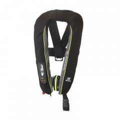 Baltic Winner 165 harness auto ilmatäytteinen pelastusliivi musta/harmaa 40-150k