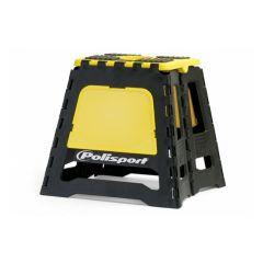 Polisport Motostand varikkopukki musta/keltainen