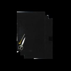 Blackbird Numerokilven tarra-arkki musta 47x33cm (3kpl)