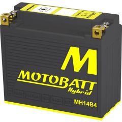 Motobatt Hybrid akku MHT14B4