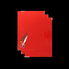Blackbird Numerokilven tarra-arkki punainen 47x33cm (3kpl)
