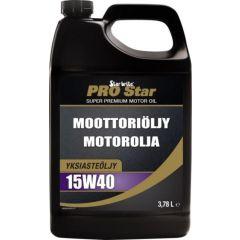 Star brite Pro Star 4-tahti moottoriöljy 15W40 3,78L