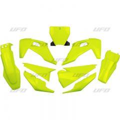 UFO Muovisarja 5-osainen Fluo Yellow HVA TC/FC 125-450 19-