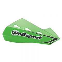 Polisport Qwest käsisuojat + kiinnikesarja vihreä 05